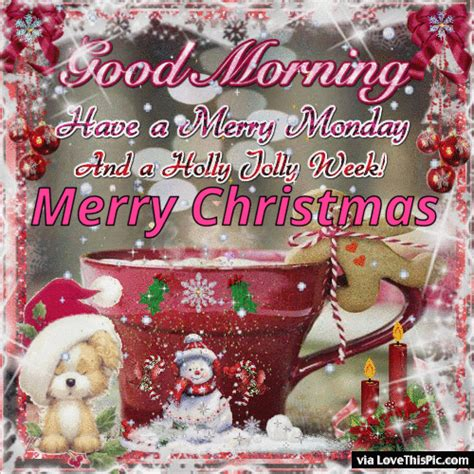 good morning   holly jolly week merry christmas pictures   images  facebook