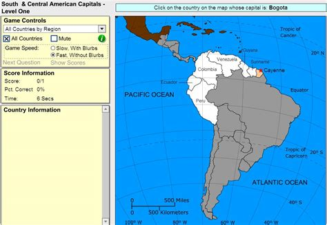 interactive map of america continent interactive map of south america