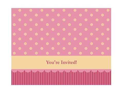 girly birthday card templates invitation template girly craft invitation