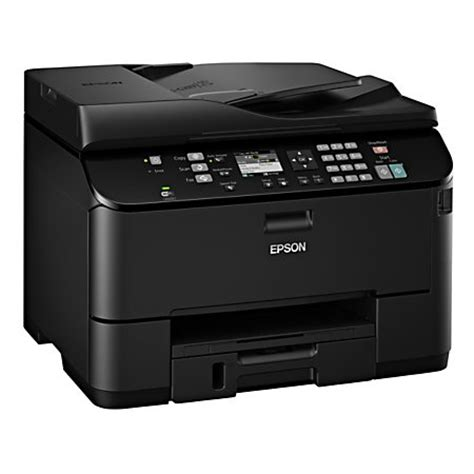 Printer All In One Epson Pro Workforce Wp 4590 epson workforce pro wp 4530 inkjet all in one printer copier scanner fax refurbished by office