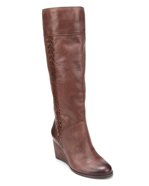 lucky brand wedge boots sanna bloomingdale s