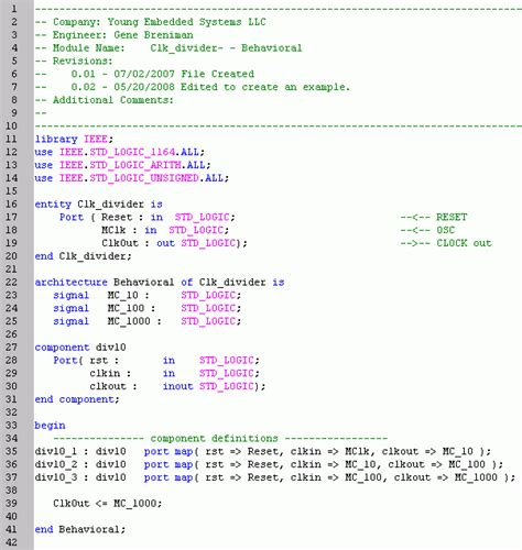 how to write test bench for vhdl code vhdl tutorial creating a hierarchical design gene breniman