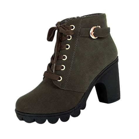 high heel motorcycle boots platform high heel single shoes vintage motorcycle
