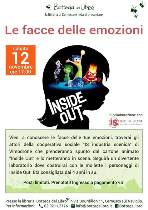 libro the twelve days of laboratorio quot le facce delle emozioni quot cernusco s n family days