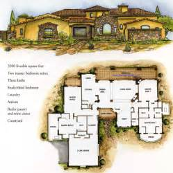 tuscan estates floor plan borgada model