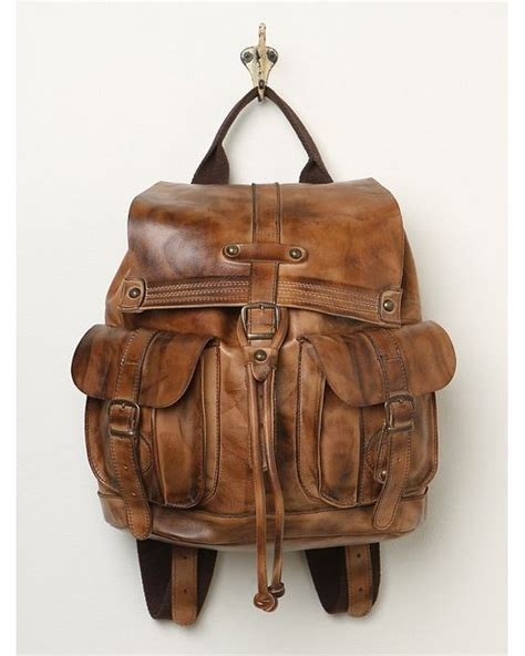 free bed stu womens jericho backpack in brown