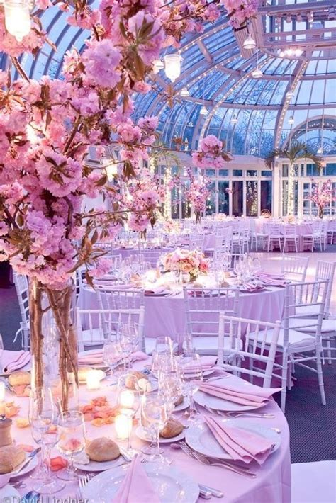 Cherry blossom centerpieces   Wedding Ideas   Pinterest