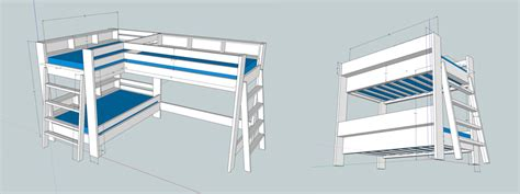 Home Plans With Guest House How To Make Bunk Beds Part 1 I Like To Make Stuff
