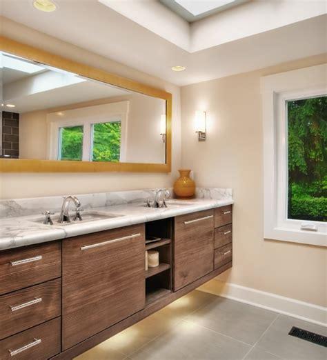 Finding hidden bathroom storage under your open vanity