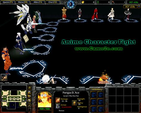 anime character fight v2 7a getdota map