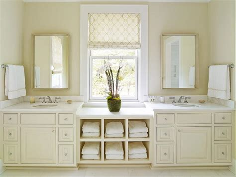 cream marble bathroom cream bathroom vanity with white marble countertop transitional bathroom