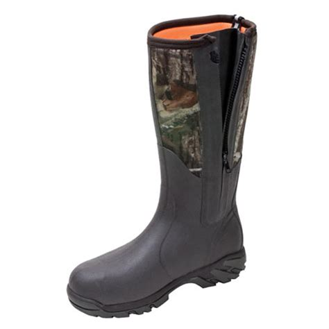 mens rubber boots s muck boots woody sport side zip boots 183301