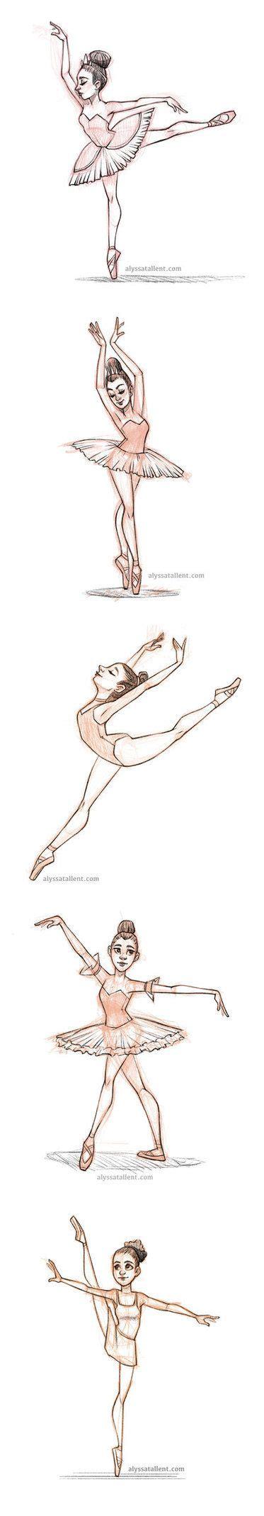 Ballerina Poses Drawing 25 best ideas about ballerina illustration on