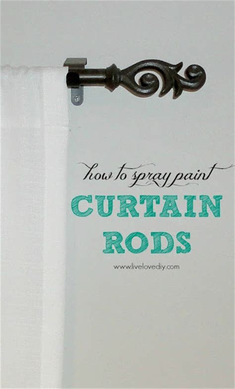 how to paint curtain rods 10 spray paint tips what you never knew about spray paint