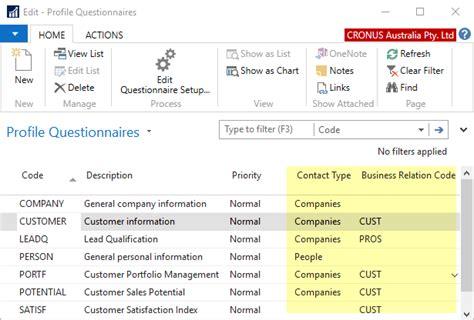 company profile design questionnaire microsoft dynamics nav resources dynamic business it