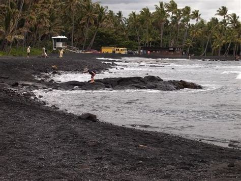 punalu u punalu u picture of punalu u black sand beach park island of hawaii tripadvisor