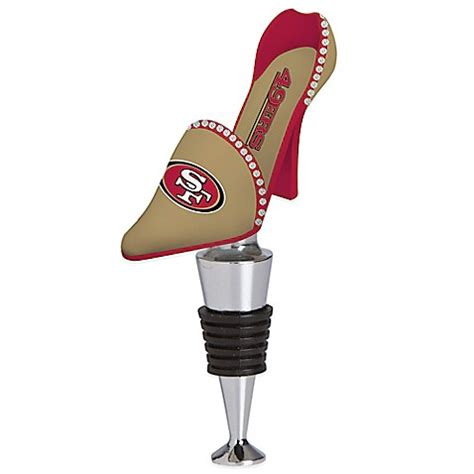 49er high heels for sale buy nfl san francisco 49ers high heel shoe bottle stopper