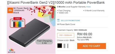 Powerbank Di Lazada pengalaman beli dan pakai powerbank xiaomi 10000mah