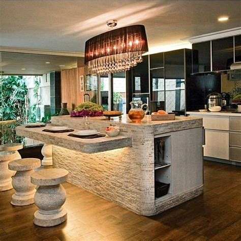 stone kitchen islands best 25 stone kitchen island ideas on pinterest