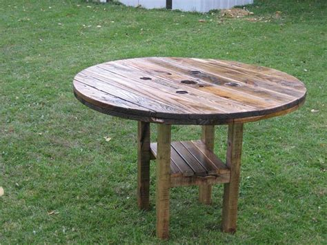 ana white rustic patio table diy projects