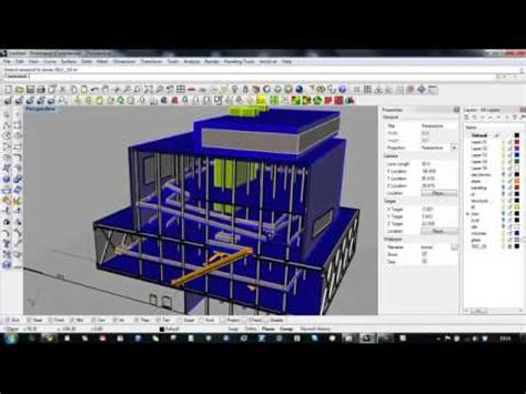 Section Rhino by Advanced Bim Techniques In Rhino 3d Section