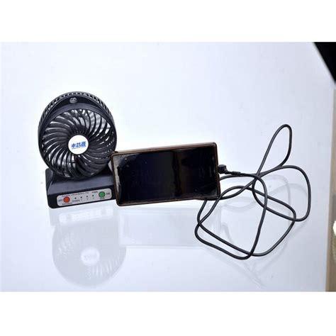 Multifunction Usb Mini Fan Power Bank 6000mah Black multifunction usb mini fan power bank 6000mah black