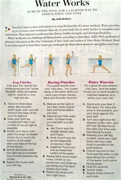 1000 images about exercise fitness aqua pool on pool exercises