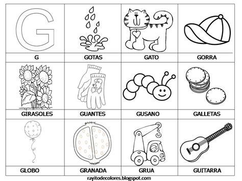 imagenes para colorear que empiecen con m rayito de colores alfabeto en palabras de la a a la z