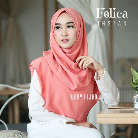 Jilbab Instan Felica Syar I jilbab terbaru 2018 jilbab instan felica praktis langsung