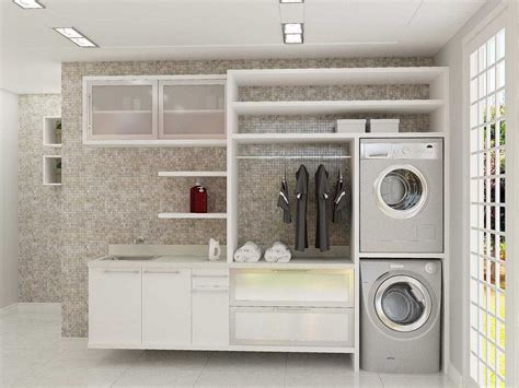 desain dapur dan ruang cuci interior ruang cuci dan setrika minimalis sederhana