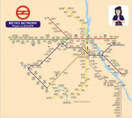 Delhi Metro Map by Know More About Delhi Metro Eg Communications