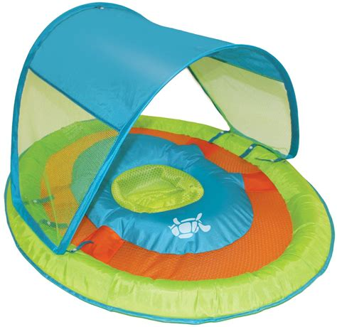 baby pool seat with shade infant baby toddler children pool ring float