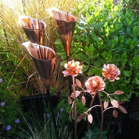 Copper Garden Decor Copper Garden Outdoor Sculpture Statue And Decor Pieces