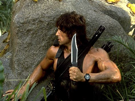 film rambo 2 the rambo 2 knife looks awesome but is it functional