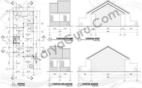 tutorial autocad denah rumah tutorial autocad gambar kerja rumah tinggal karyaguru center