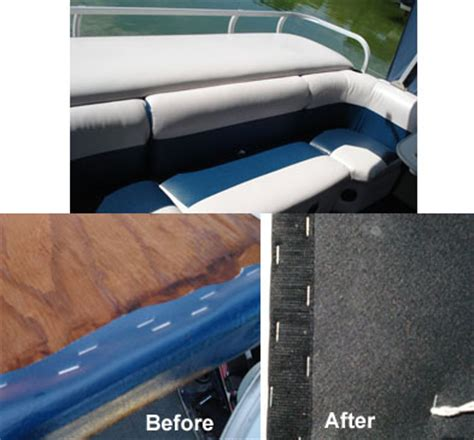 Ace canvas boat reupholstering and covering