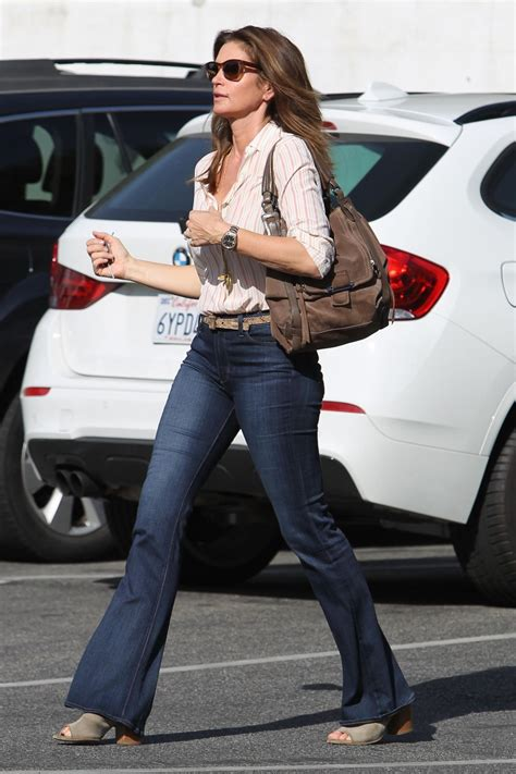 vanidades cindy crawford cindy crawford in casual outfit out in malibu