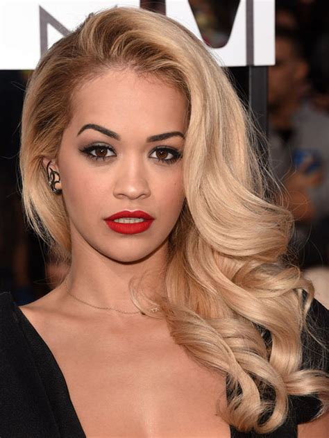 what colour liostick does rita ora wear on the voice rita ora s startling hair confession people feel weird