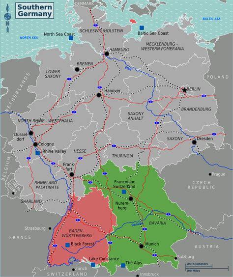 southern germany map file southern germany regions 01 png