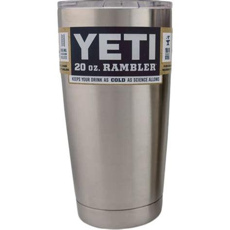 YETI Rambler 20 oz Tumbler with Lid   Academy