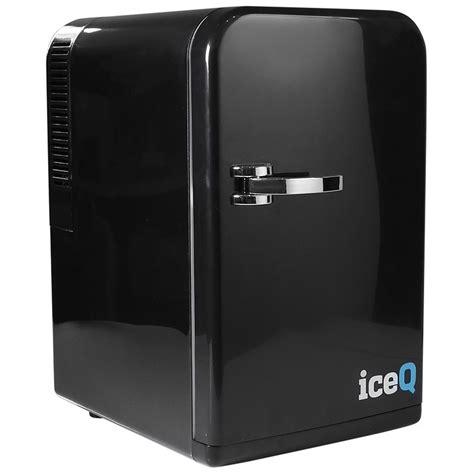 Mini Fridge For Office Desk Iceq 15 Litre Deluxe Portable Mini Fridge Black