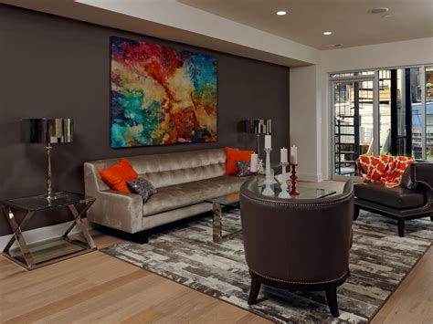 dark brown living room walls decoration paint and accent wall ideas to transform your