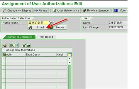 sap user tutorial sap security tutorial assigning authorization objects to