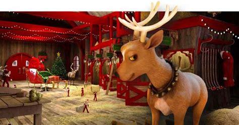 reindeer stables santa s northpole pinterest stables
