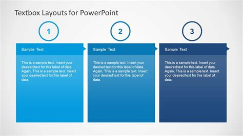 powerpoint layout text textbox layouts for powerpoint slidemodel