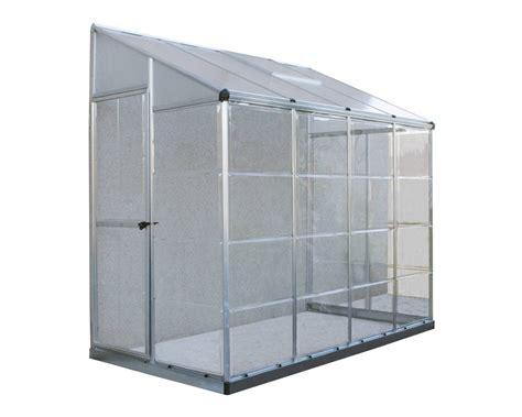 palram  lean  greenhouse polycarbonate