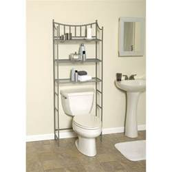 Bathroom Shelves Over Toilet by Shelves Over The Toilet As The Additional Storage For