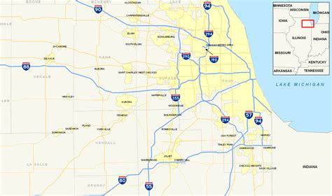 chicago expressways map file chicago interstates map png wikimedia commons