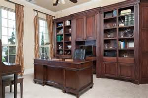 Library Bookcase Lighting Custom Built In Cabinetry Traditional Home Office