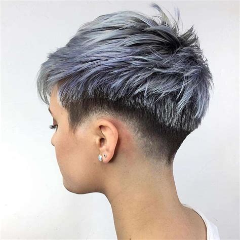 short curly hairstyles with high back cut short haircut 2017 8 fashion and women